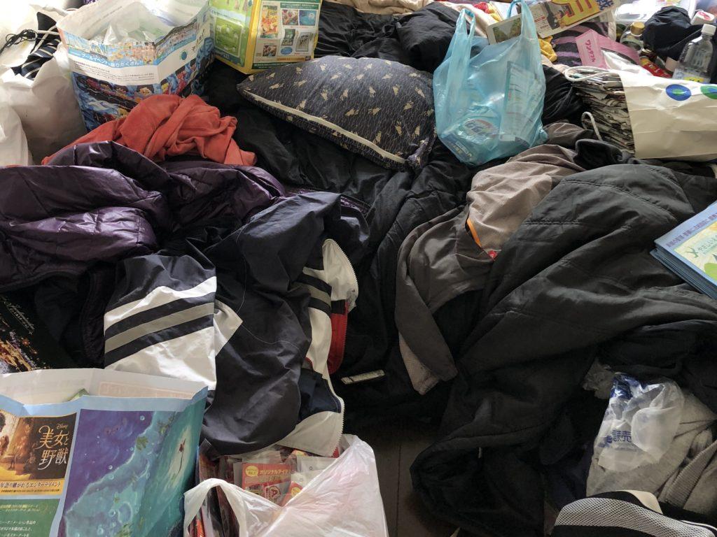 国立市ゴミ屋敷の清掃