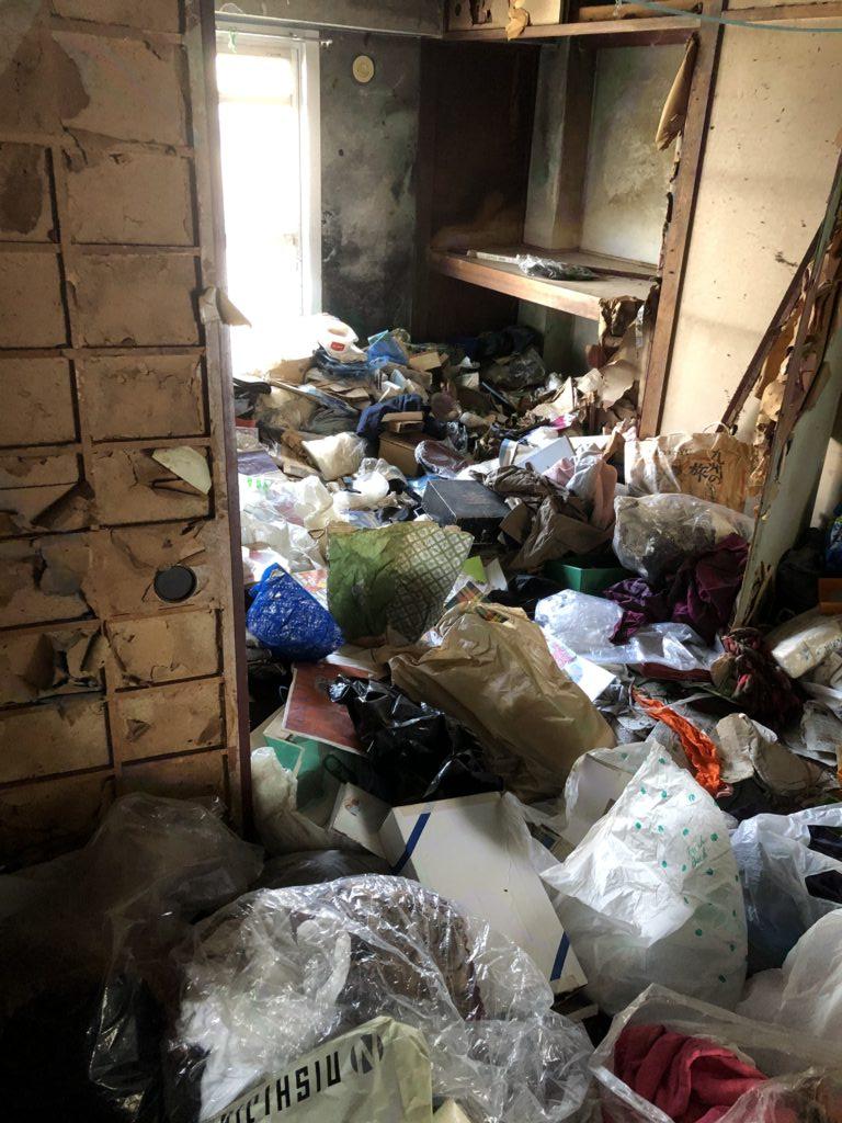 福生市のゴミ屋敷