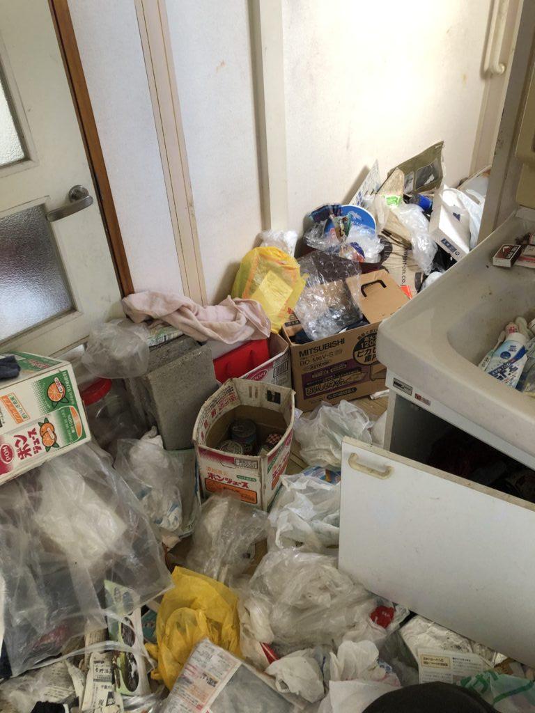 東大和市ゴミ屋敷状態のお部屋