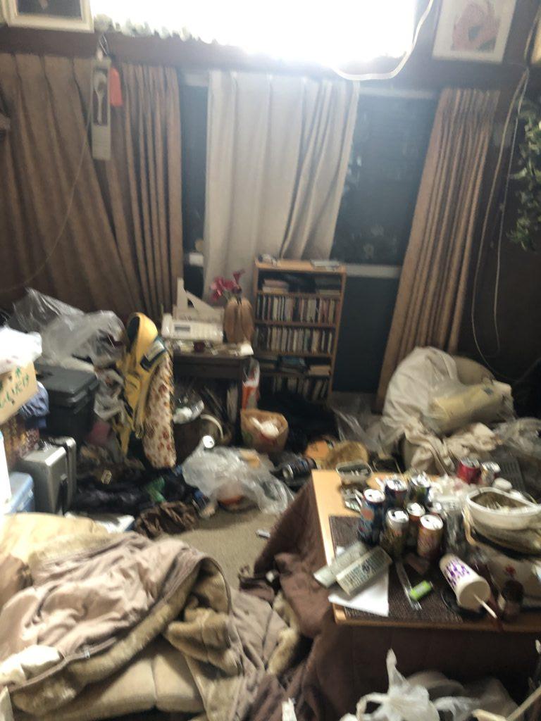 立川市のゴミ屋敷状態のお部屋