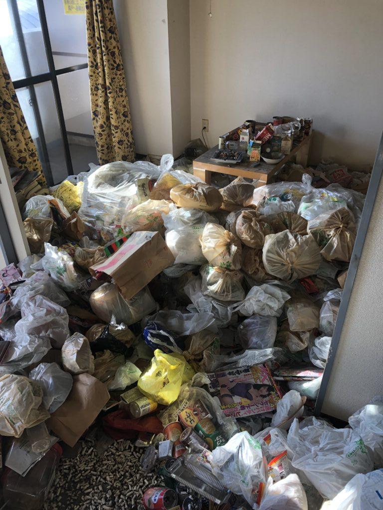 立川市のゴミ屋敷