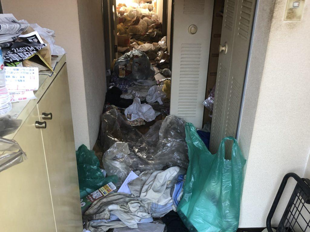 国立市ゴミ屋敷整理
