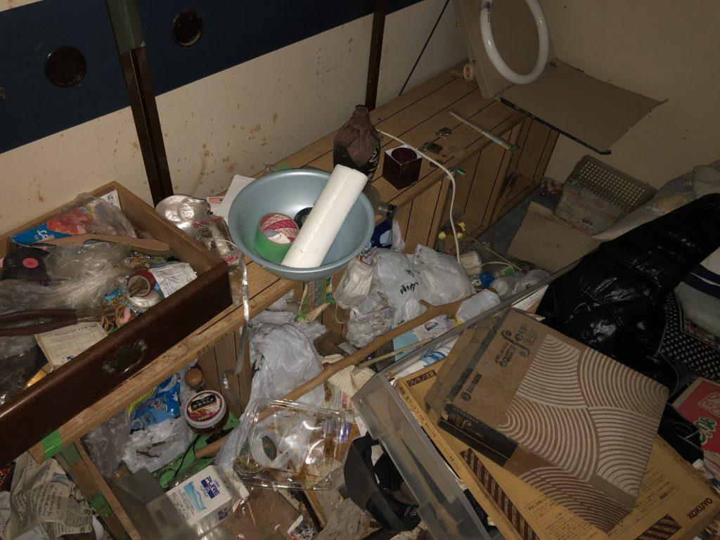国立市ゴミ屋敷の片付け