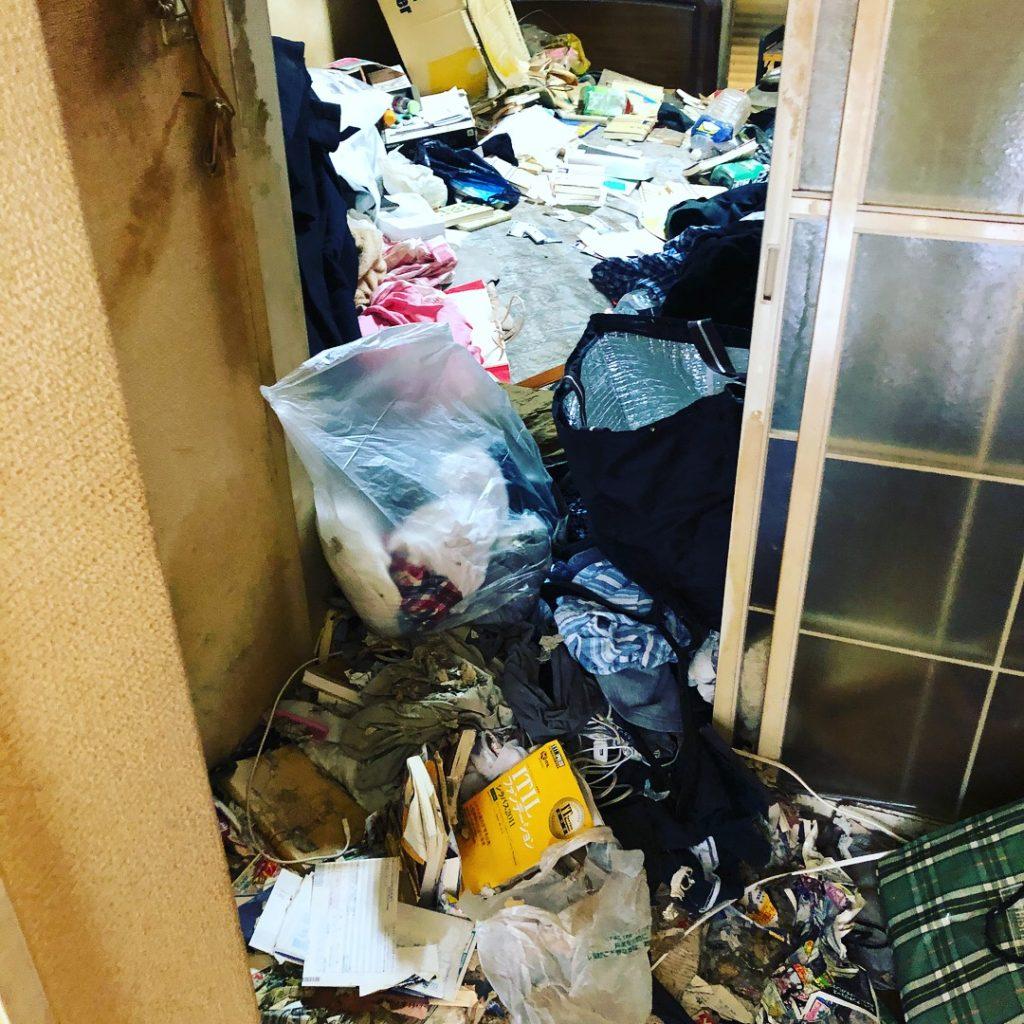 羽村市のゴミ屋敷